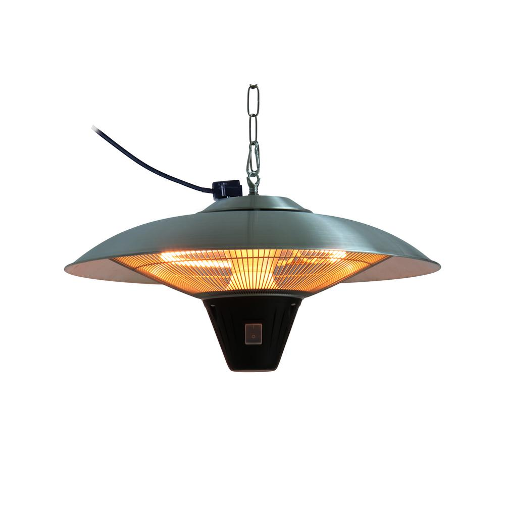 hanging patio heater. Fire Sense Gunnison 1,500-Watt Aluminum Hanging Halogen Patio Heater I