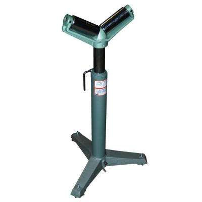 Adjustable 26 in. to 36 in. V-Shaped Range Roller Stand