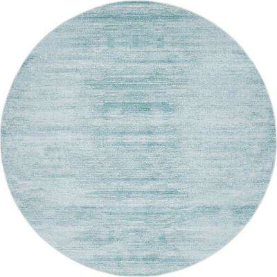 Uptown Collection by Jill Zarin Turquoise 8' x 8' Round Rug