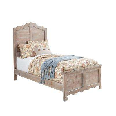 Chatsworth Chalk Twin Complete Panel Bed