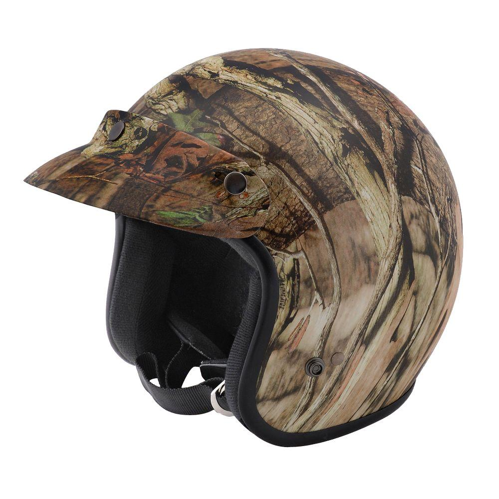 Raider 2X-Large Adult Realtree Mossy Oak Infinity Open Face Helmet