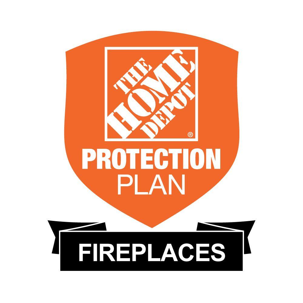 The Home Depot 2-Year Protection Plan for Fireplaces ($50-$99.99) Get peace of mind for all of your home-improvement products with The Home Depot Protection Plan. If your product experiences a covered failure, you will be reimbursed with a Home Depot eGift Card for the full purchase price of your product, plus tax. After you purchase your Home Depot Protection Plan, a separate confirmation email will be sent to you. This confirmation will include the terms & conditions and provide instructions on how to file a claim should your product experience a covered failure.