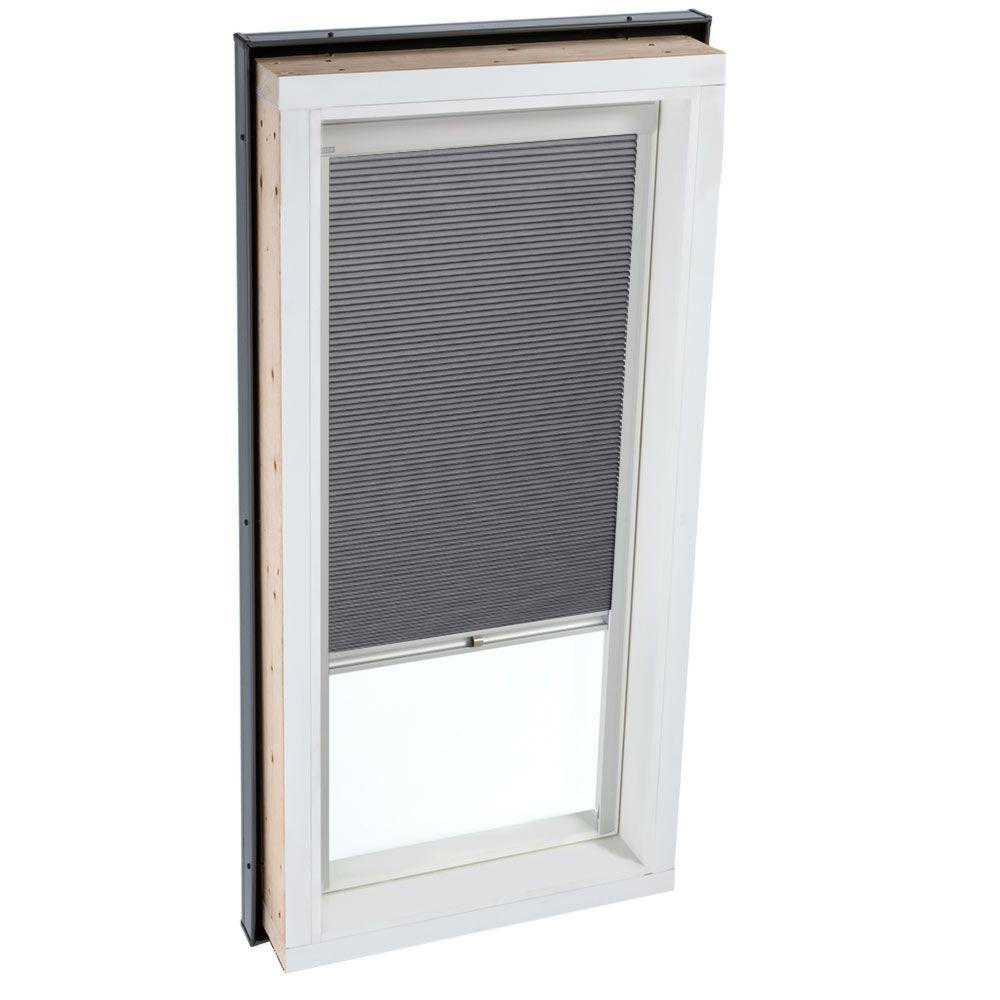 Manual Room Darkening Grey Skylight Blinds for FCM 3434 Models