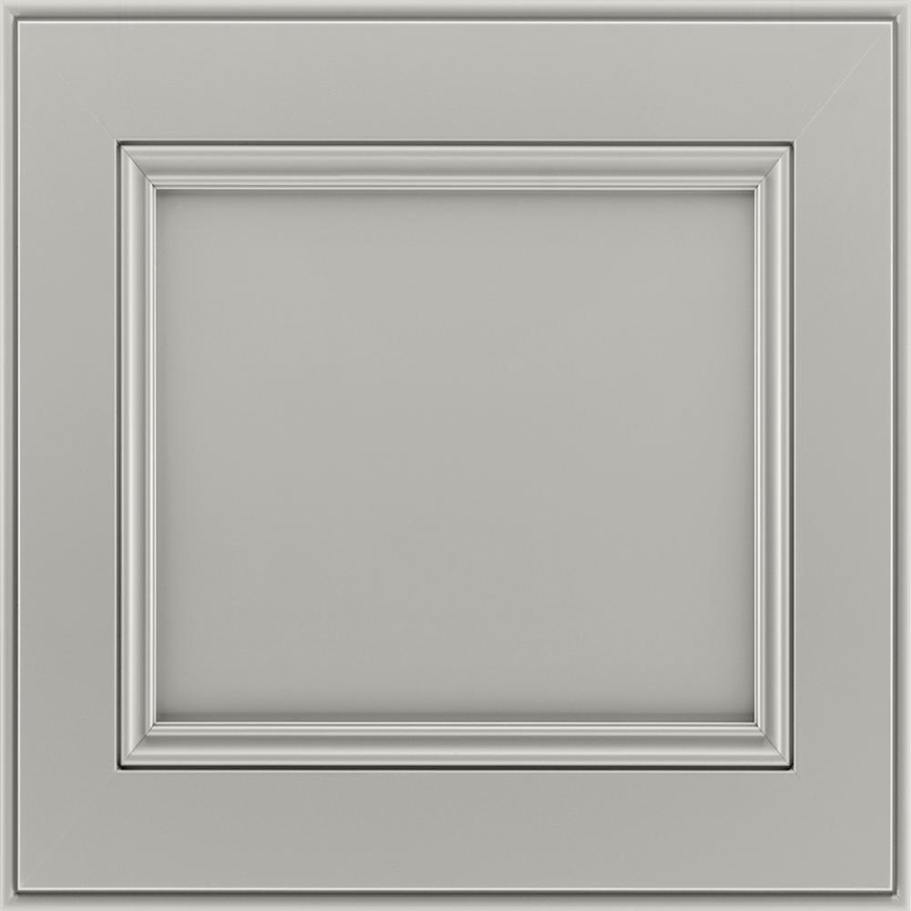 14-9/16 x 14-1/2 in. Cabinet Door Sample in MacArthur Painted Stone
