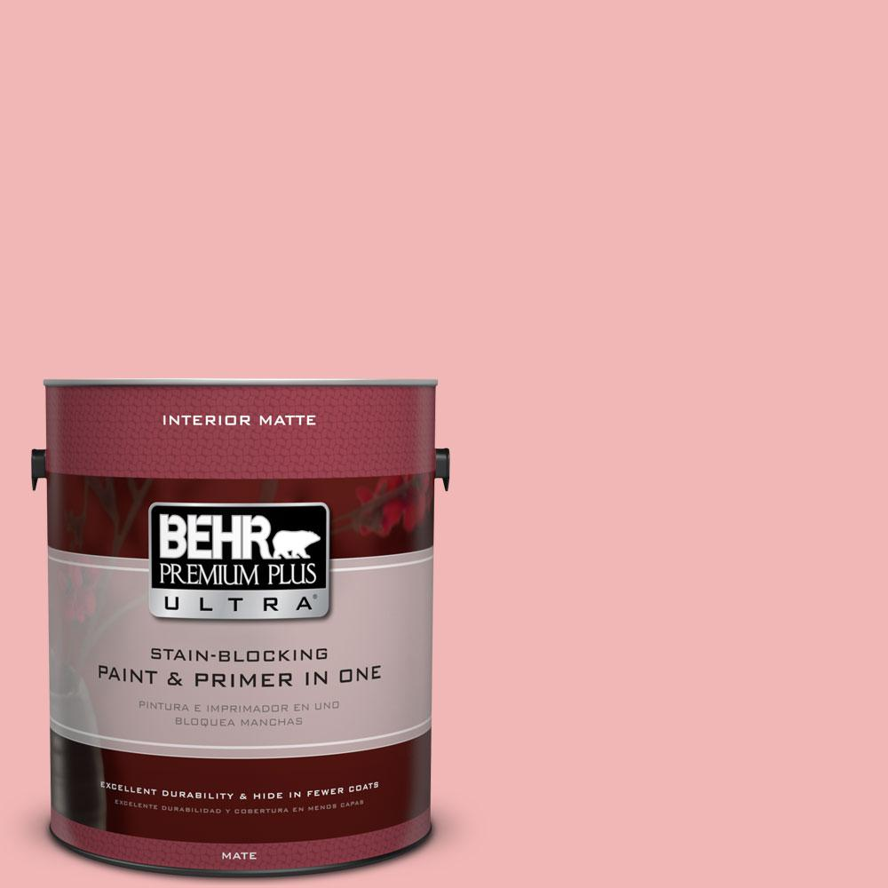 BEHR Premium Plus Ultra 1 gal. #P170-2 Old Flame Matte Interior Paint