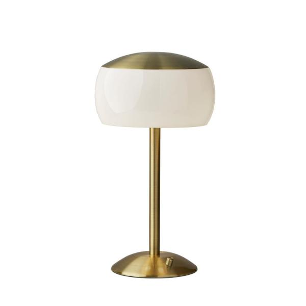 Adesso Jessica 20 In Antique Brass Table Lamp 5002 21 The Home Depot