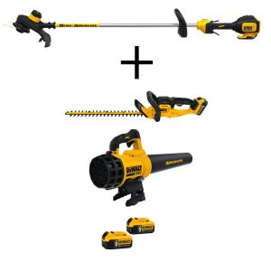 Dewalt 13 inch 20-Volt MAX Lithium-Ion Cordless String Grass Trimmer with Bonus... by DEWALT