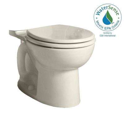 Cadet 3 FloWise Round Toilet Bowl Only in Linen