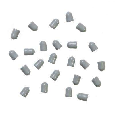 1/4 in. Silver Shelf End Caps for Maximum Load Ventilated Wire Shelving (24-Pack)