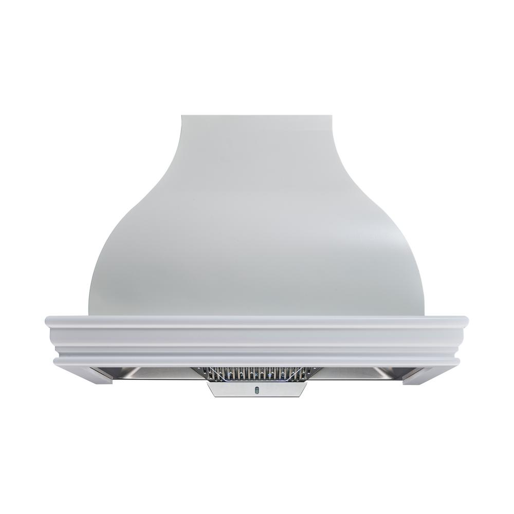 ebba3193d26 Winflo 36 in. 900 CFM Ducted White Color Solid Wood Frame Liner Combined  Wall Mount