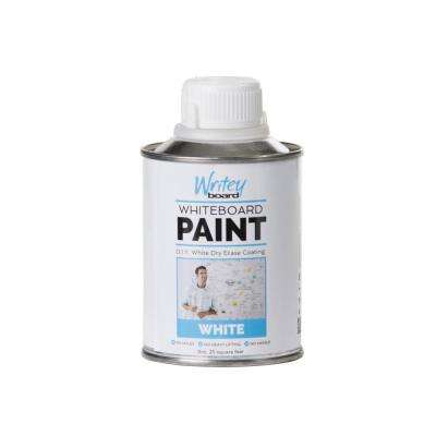 25 sq. ft. White Gloss Whiteboard Paint Kit