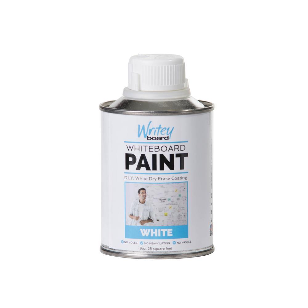 25 sq. ft. White Gloss Whiteboard Paint Kit