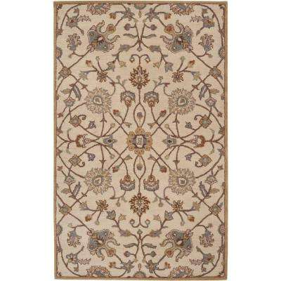 Albi Taupe 10 ft. x 14 ft. Indoor Area Rug