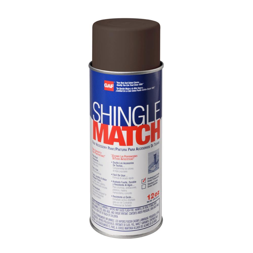 GAF 12 oz. Shingle Match Weathered Wood Roof Accessory Paint ...