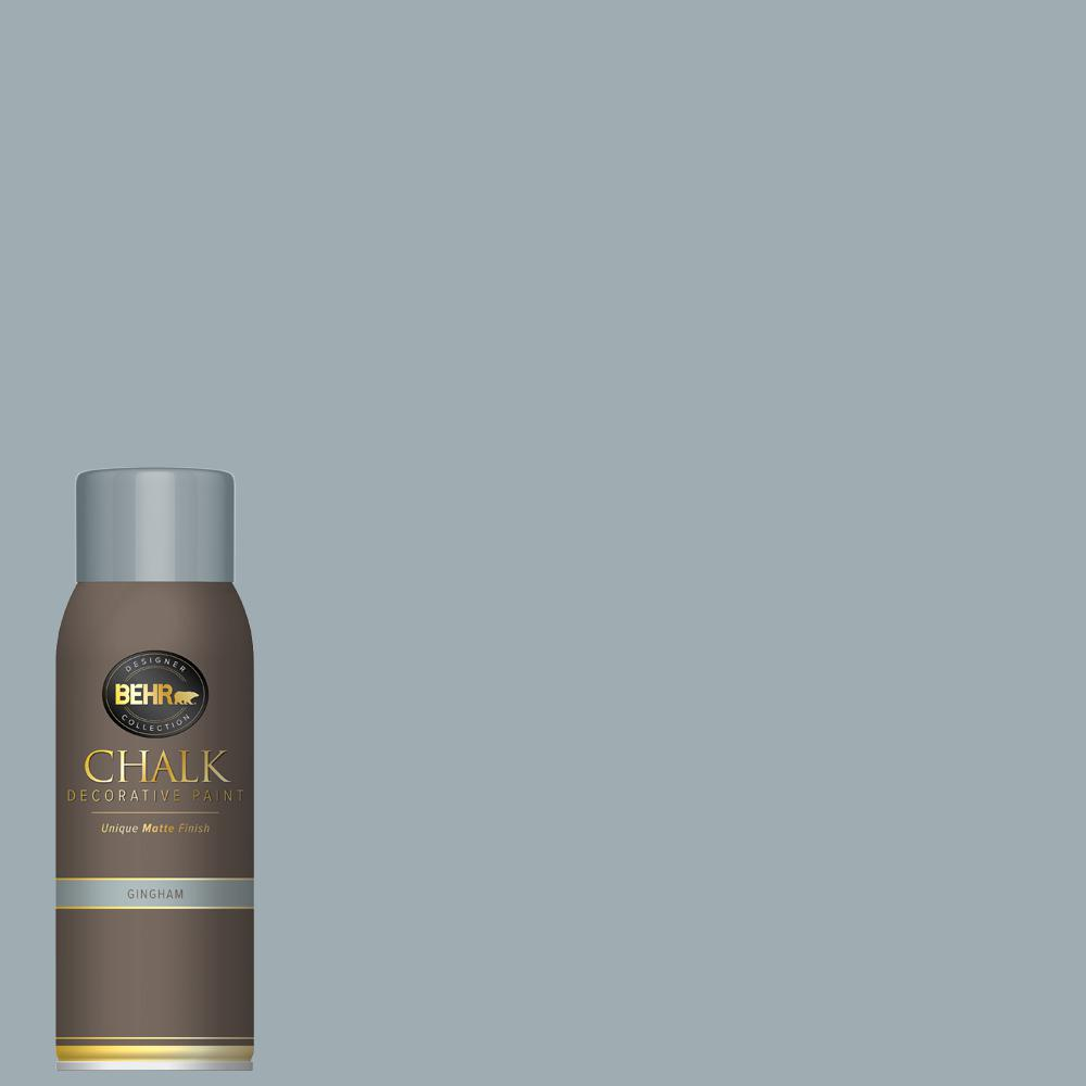 BEHR 12 oz. Gingham Interior Chalk Spray Paint Aerosol