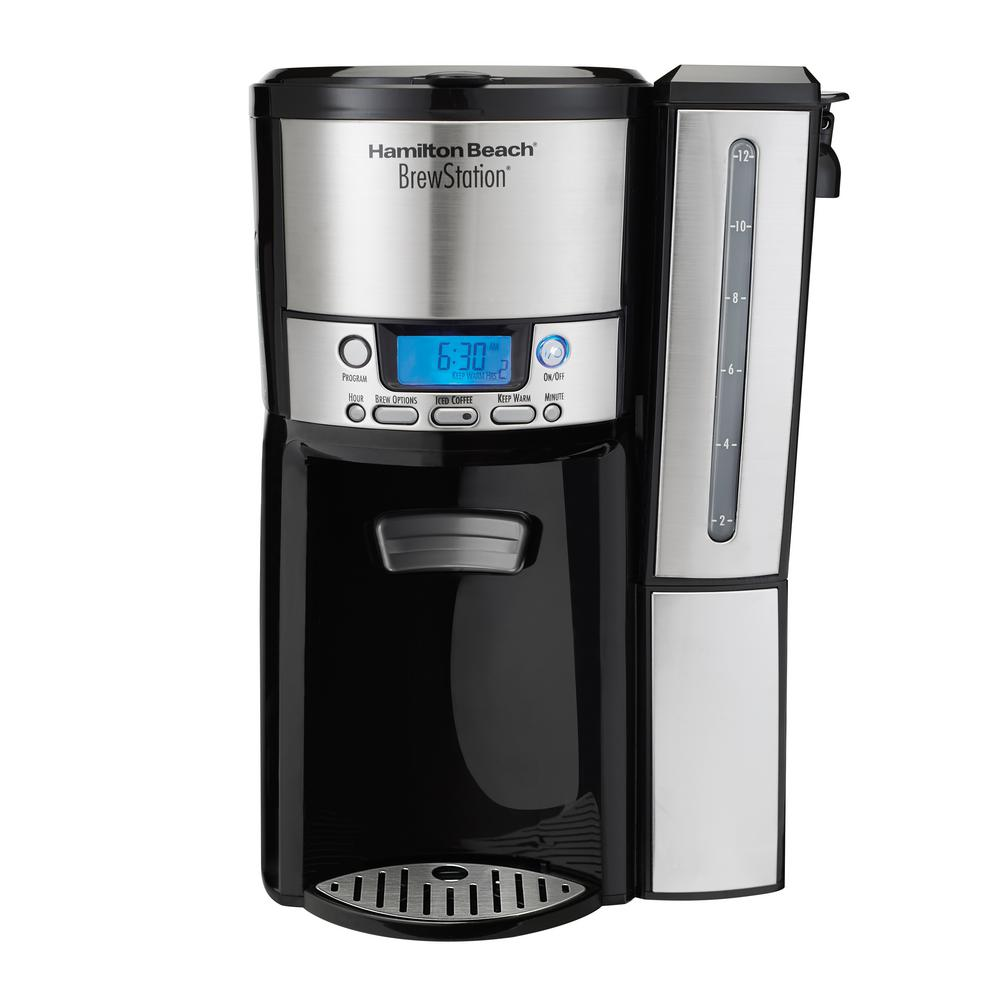 Hamilton Beach 12-Cup Coffee Maker, Programmable BrewStation Dispensing Coffee Machine (47950)