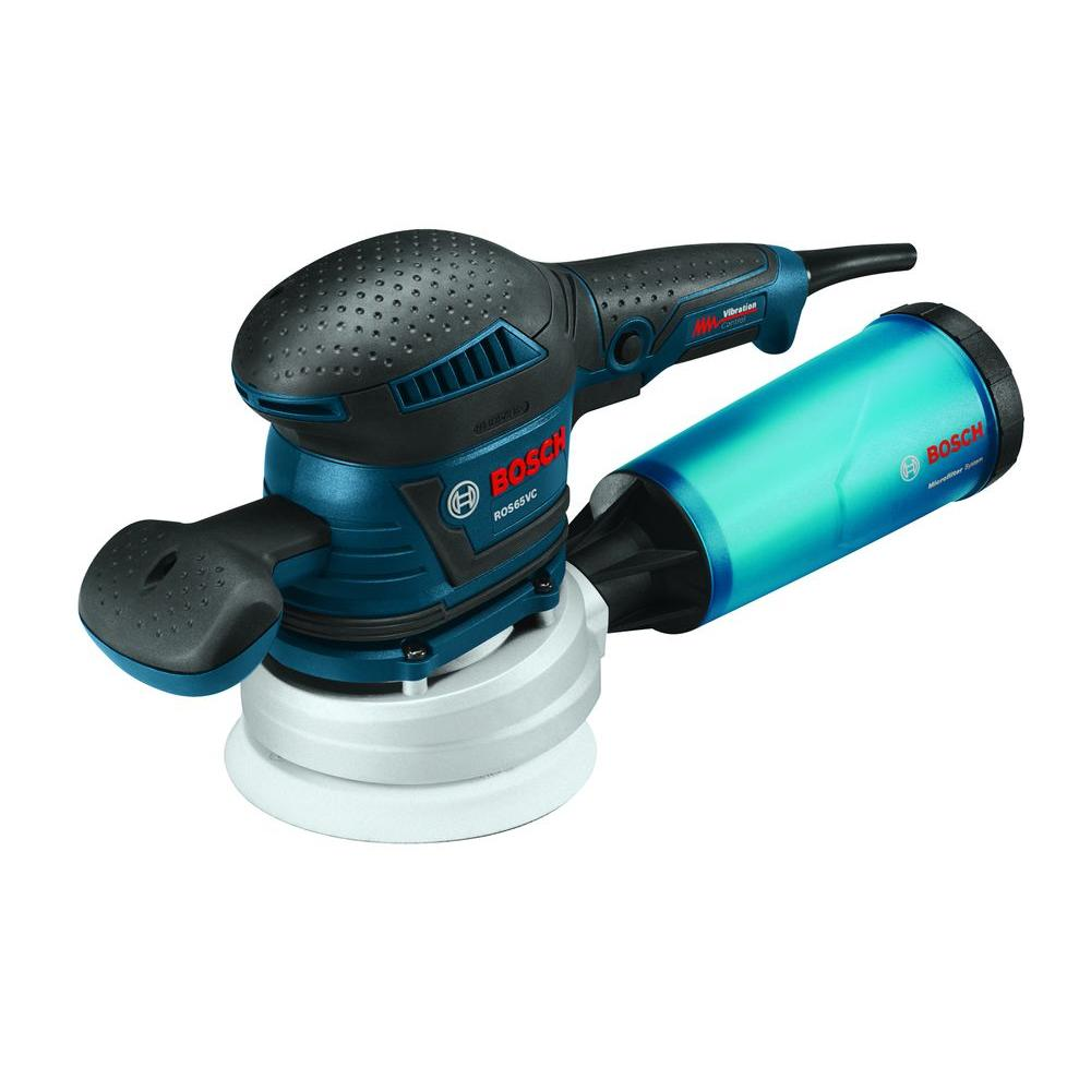 3.3 Amp Corded 6 in. Variable Speed Random Orbital Sander/Polisher with