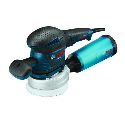 3.3 Amp Corded 6 in. Variable Speed Random Orbital Sander/Polisher with Vibration Control