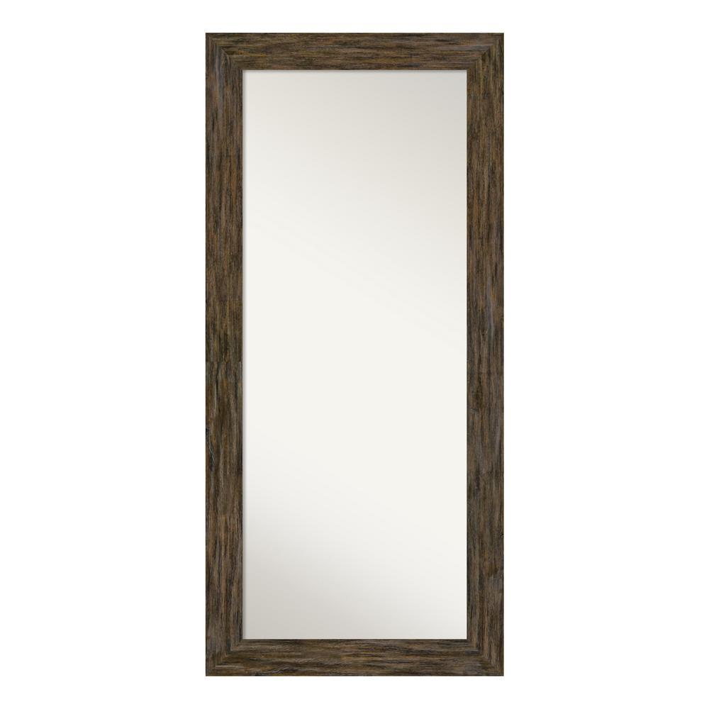 Fencepost Brown Floor/Leaner Mirror