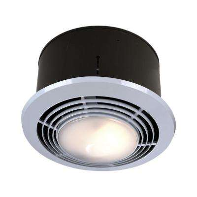 70 CFM Ceiling Exhaust Fan With Light And Heater