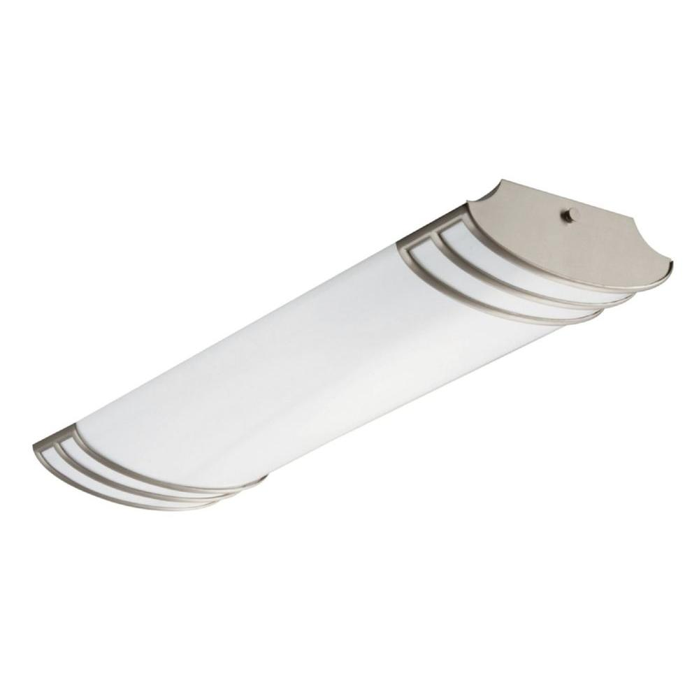 Lithonia Lighting Futra 2 Light Brushed Nickel Fluorescent Linear Decorative Unit