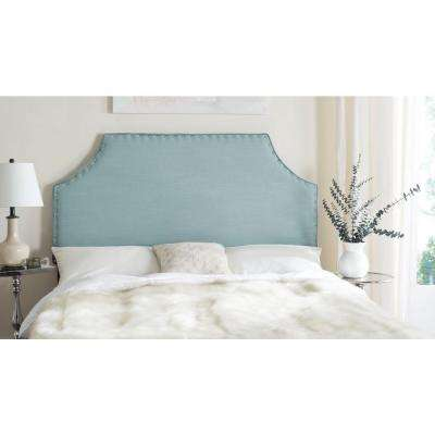Denham Sky Blue Queen Headboard