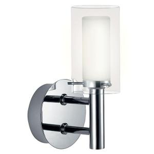 Palermo 1-Light Chrome Wall Lamp by