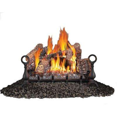 24 in. Vent Free Propane Gas Log Set