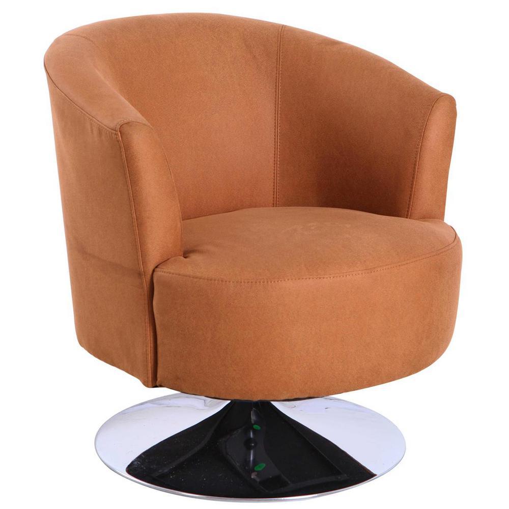 Tustin Bark Fabric Leisure Accent Chair