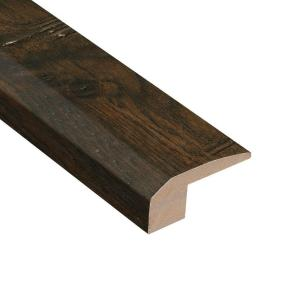 Distressed Lennox Hickory 3/8 in. Thick x 2-1/8 in. Wide x 78 in. Length Carpet Reducer Molding