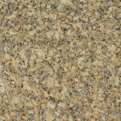3 in. x 3 in. Granite Countertop Sample in Giallo Napoleon