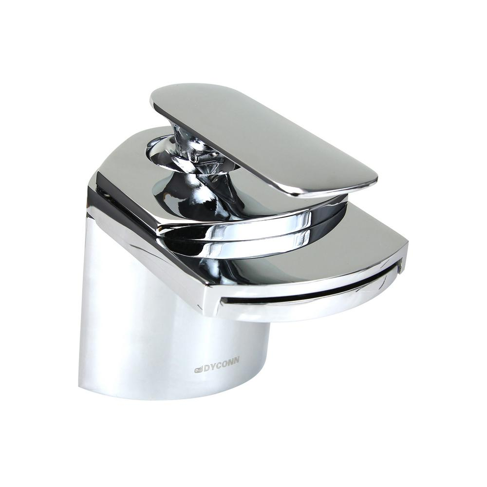 Dyconn Crystal 4.5 in. Single Hole Single-Handle Vessel Bathroom ...