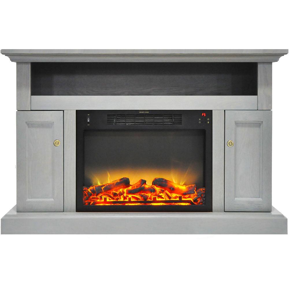 Cambridge Sorrento Electric Fireplace With An Enhanced Log