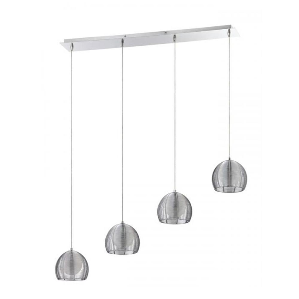 Kitchen Design Kendal: Filament Design Vera 4-Light Chrome Multi Light Pendant