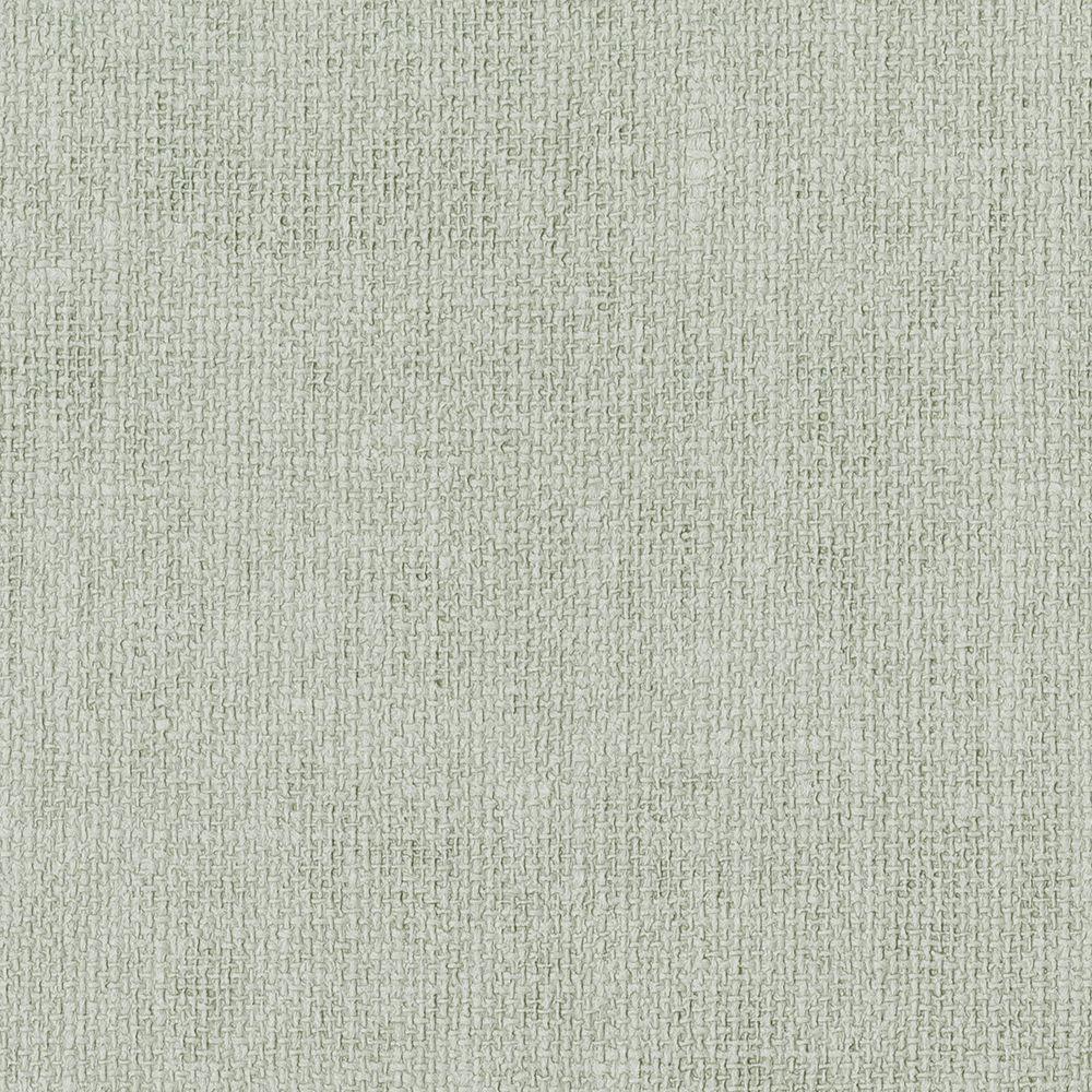 Sage Flax Texture Wallpaper Sample
