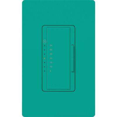 Maestro 5 Amp In-Wall Digital Timer - Turquoise