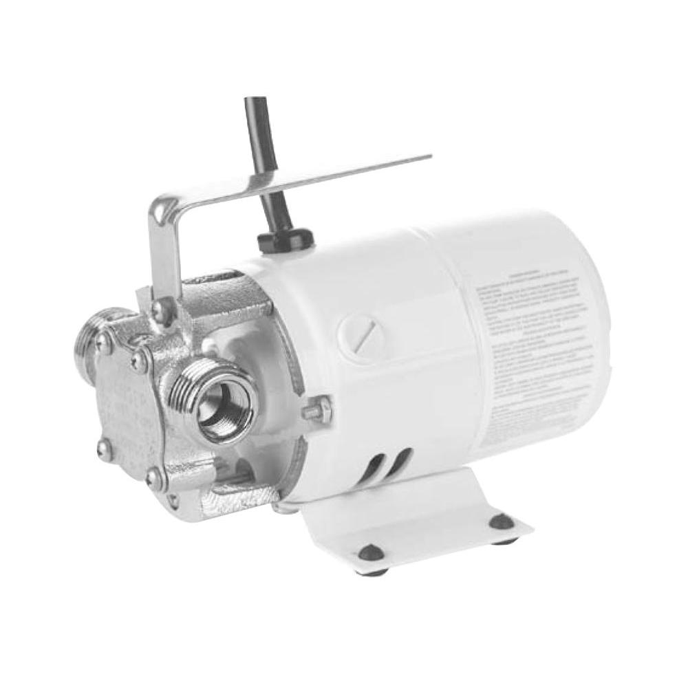 Little Giant Pony Pump Series .5 HP Non-Submersible Self-Priming Transfer Pump