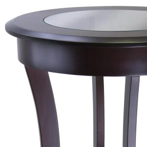 8a692b295e83 Internet  301285388. +4. Winsome Cassie Round Accent Table with Glass