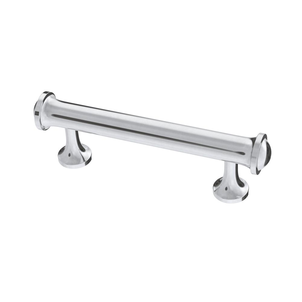 Contempo 3 in. (76 mm) Polished Chrome Cabinet Drawer Pull