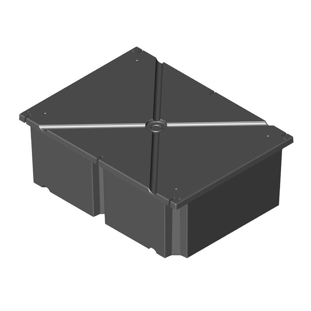 36 in. x 48 in. x 24 in. Dock System Float Drum