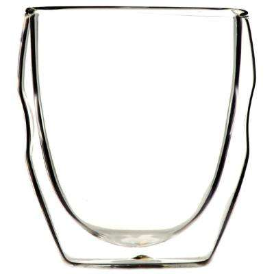 Moderna Artisan Series 8 oz. Double Wall Beverage Glasses (Set of 4)