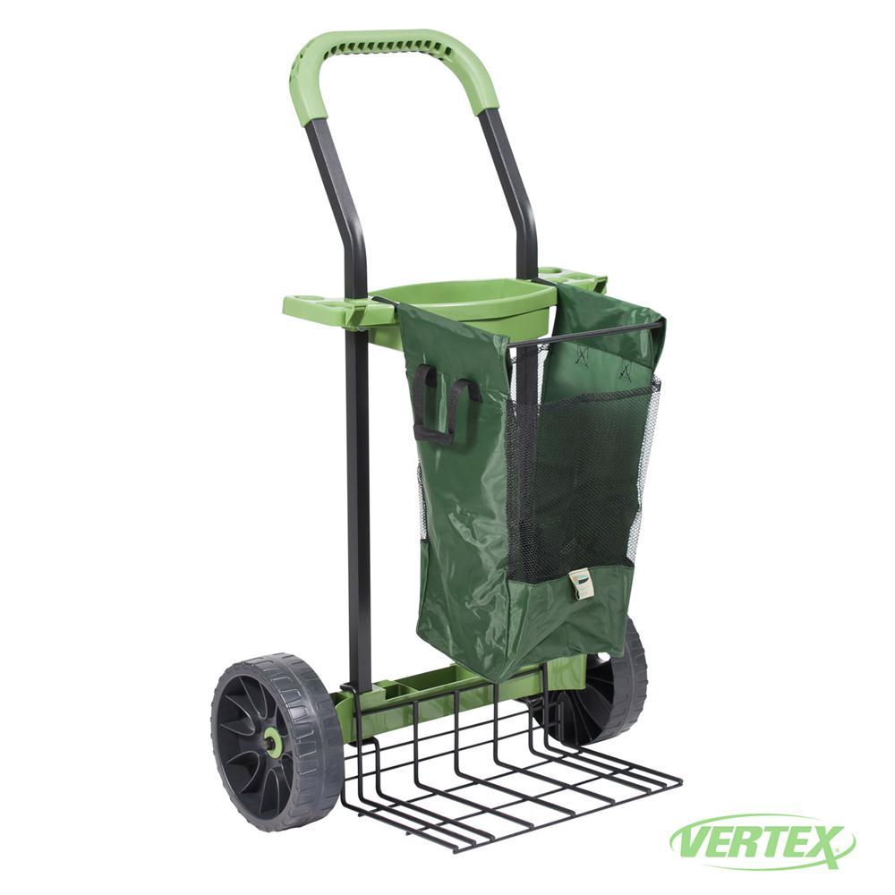 Vertex Super-Duty Yard and Garden Project Cart