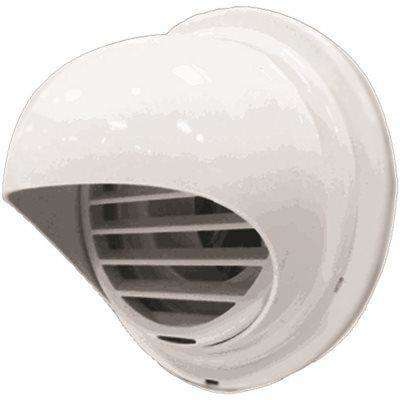 Plastic Hood Termination for PVC and CPVC Venting 3 in. and 4 in. Dia.