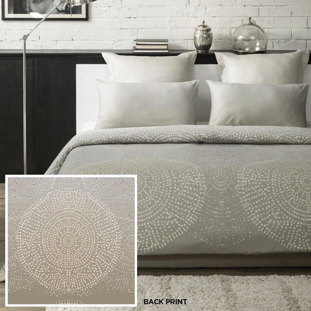 Fern Duvet Cover Set Fashionable Floral 300 Thread Count 100/% Cotton