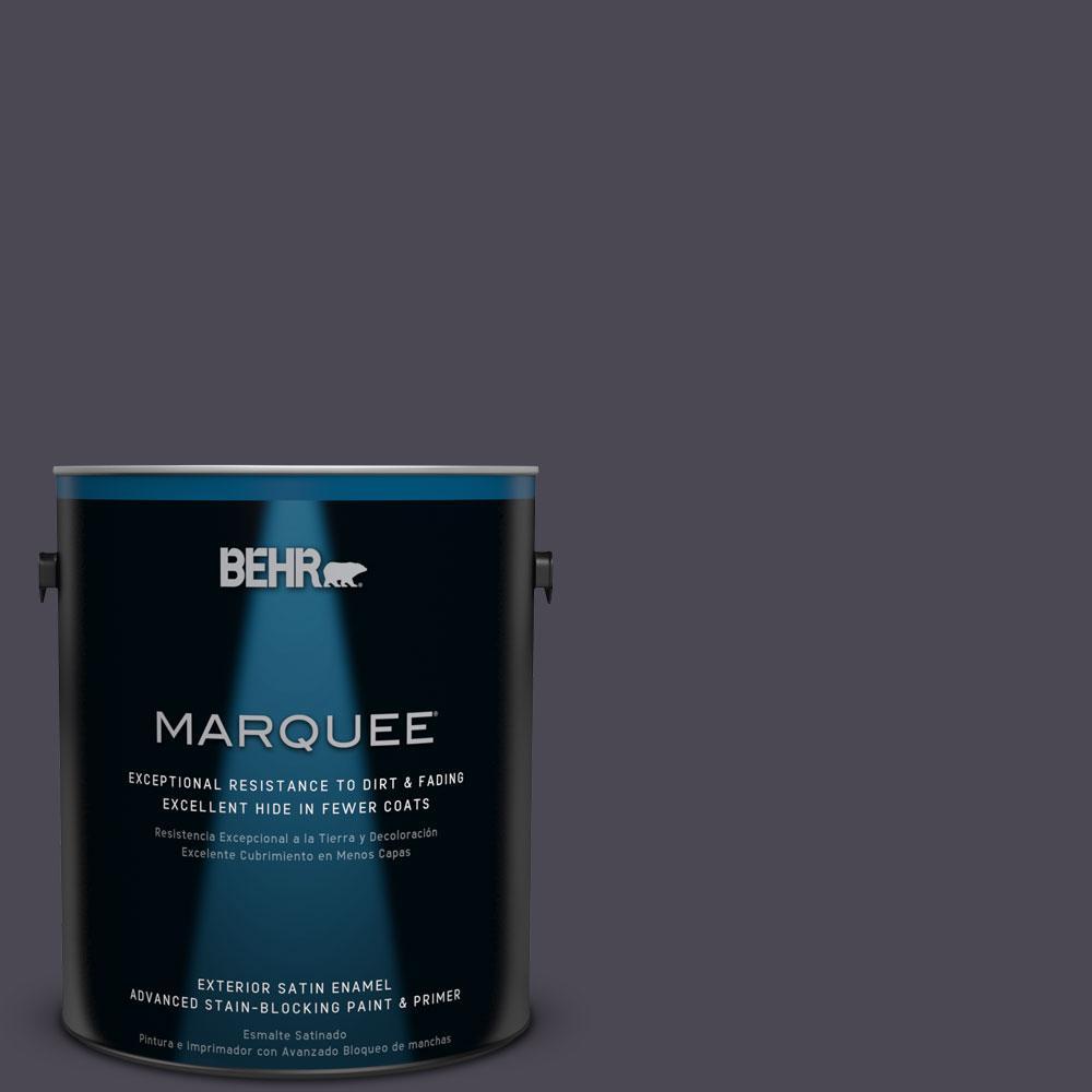 BEHR MARQUEE 1-gal. #N560-7 Limo Scene Satin Enamel Exterior Paint