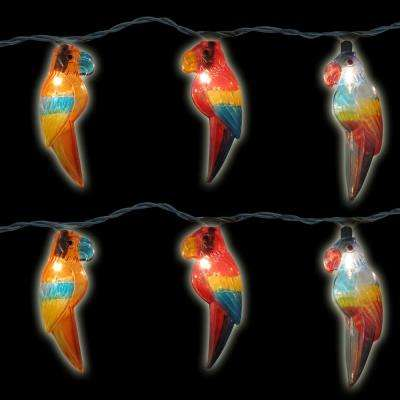 10-Light Multi-Color Parrot Light Set (Set of 2)