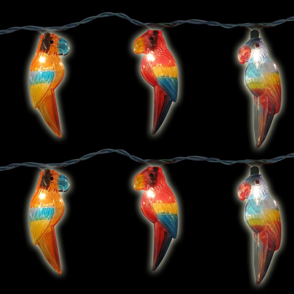 10-Light Multi-Color Parrot Light Set (Set of 2)