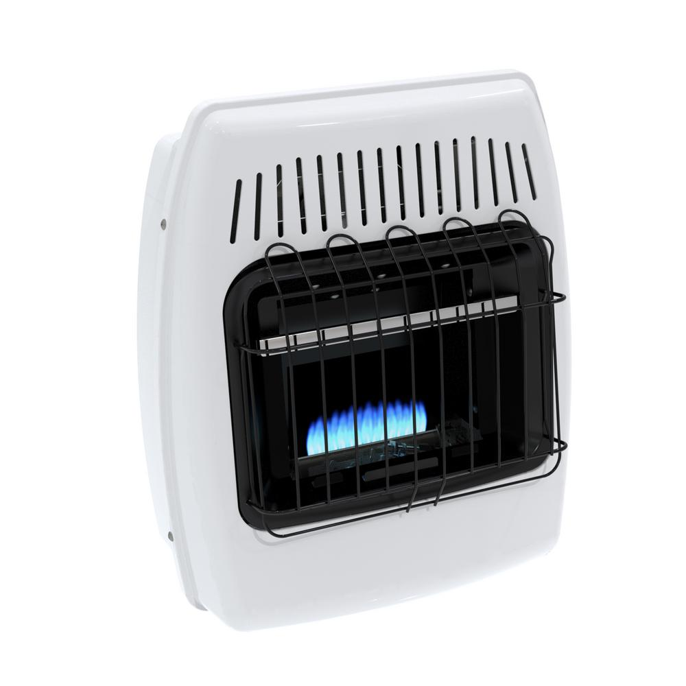 Dyna Glo 10,000 BTU Blue Flame Vent Free LP Wall Heater, ...