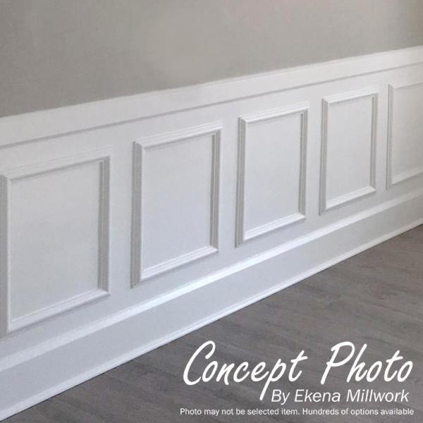 Ekena Millwork 20 In W X 24 In H X 1 2 In P Ashford Molded Classic Wainscot Wall Panel Pnl20x24as 01 The Home Depot