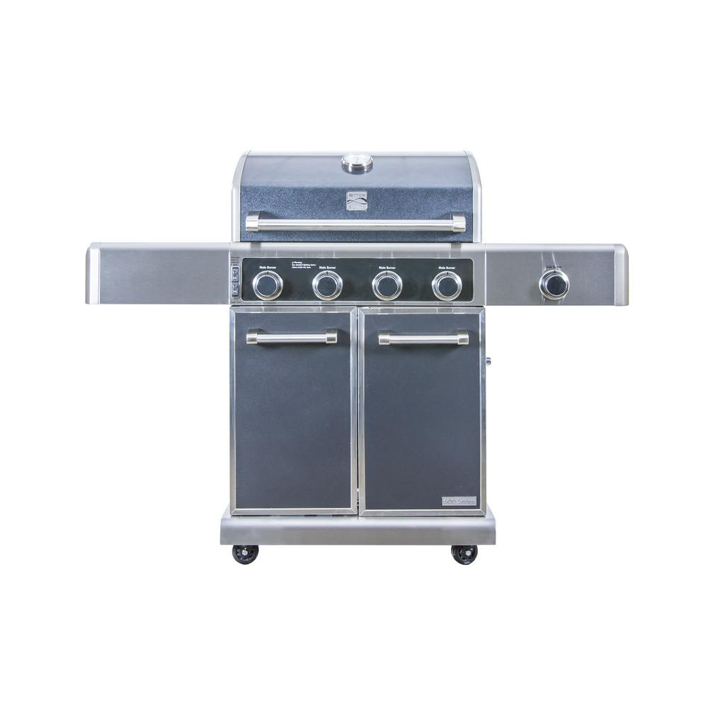 Kenmore Elite 3-Burner Dual-Fuel Gas Grill